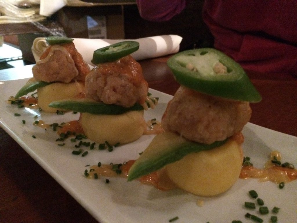 Aji Peruvian - Causa Spicy Tuna